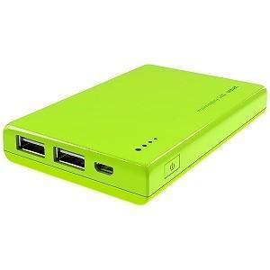 マクセル USBモバイルバッテリー +micro USBケーブル 20cm (5200mAh) MPC‐CW5200LM(ライム) |y-kojima|02