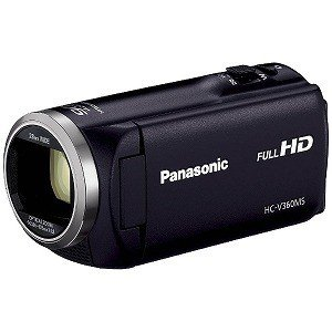 パナソニック SD対応 16GBメモリー内蔵フルハイビジョンビデオカメラ HC−V360MS−K (ブラック)
