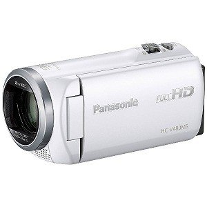 パナソニック SD対応 32GBメモリー内蔵フルハイビジョンビデオカメラ HC−V480MS−W (...