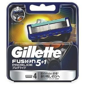 ジレット ジレット フュージョン 5+1 プログライド フレックスボール マニュアル 替刃 4個入 GRプログライドマニュアルカエ4B
