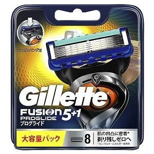 ジレット ジレット フュージョン 5+1 プログライド フレックスボール マニュアル 替刃 8個入 ...