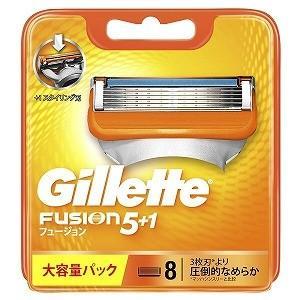 ジレット ジレット フュージョン 5+1 替刃 8個入 GRフユジョン5+1カエバ8B