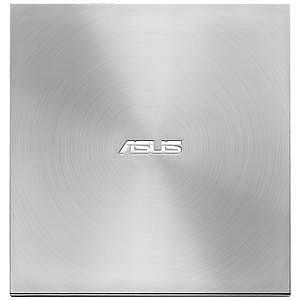 ASUS USB2.0接続 外付けDVDドライブ SDRWシリーズ (日本語パッケージ・シルバー)