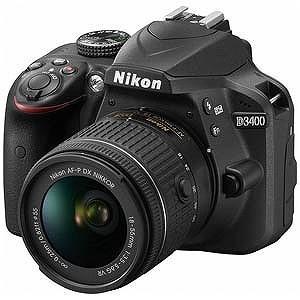 ニコン デジタル一眼レフ D3400【レンズキット】(ブラック) D3400LKBK