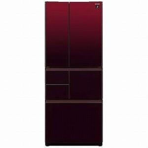 シャープ 6ドア冷蔵庫(505L・フレンチドア) SJ−GT...