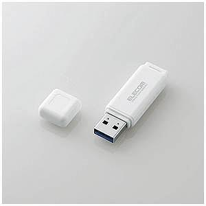 エレコム USB3.0メモリ[Mac/Win]MF−HSU3Aシリーズ(32GB・ホワイト) MF−...