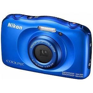 ニコン コンパクトデジタルカメラ COOLPIX(クールピクス) W100 (ブルー)|y-kojima