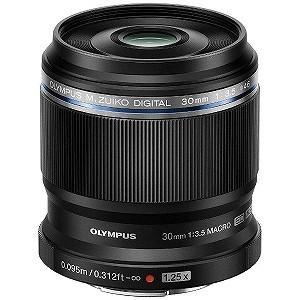 オリンパス 交換レンズ M.ZUIKO DIGITAL ED 30mm F3.5 Macro【マイク...