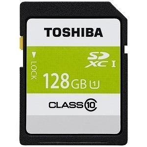 東芝 128GB・UHS Speed Class1(Class10)対応SDXCカード SDAR40N128G