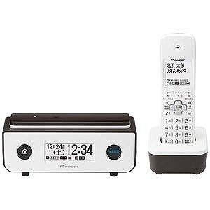 パイオニア (子機1台)デジタルコードレス留守番電話機 TF−FD35W−BR (ビターブラウン)|y-kojima