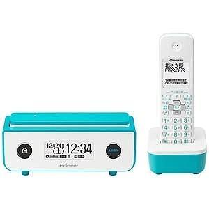 パイオニア (子機1台)デジタルコードレス留守番電話機 TF−FD35W−L (ターコイズブルー)|y-kojima