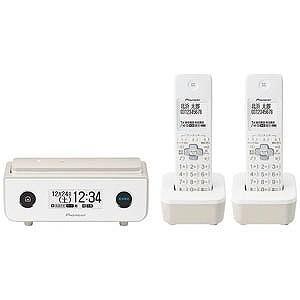 パイオニア (子機2台)デジタルコードレス留守番電話機 TF−FD35T−TY (マロン)|y-kojima