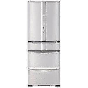日立 6ドア冷蔵庫 (475L・フレンチドア) R−F480G−SN (ステンレスシャンパン)(標準設置無料)