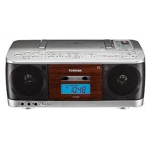 東芝 CDラジカセ(ラジオ+CD+カセットテープ) TY−CDK9(S)シルバー|y-kojima
