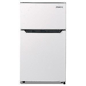 ハイセンス 2ドア冷蔵庫 (93L) HR‐B95A‐W (ホワイト)(標準設置無料)|y-kojima