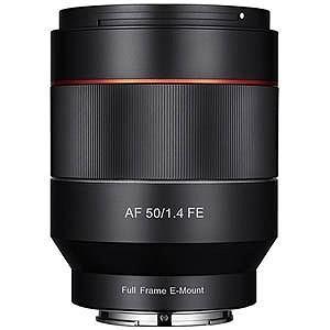 SAMYANG 交換レンズ AF50mm F1.4 FE【ソニーEマウント】