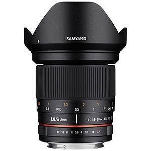 SAMYANG 交換レンズ 20mm F1.8 ED AS UMC【ソニーEマウント】