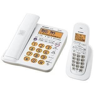シャープ (子機1台)デジタルコードレス電話機 JD‐G56CL(ホワイト系)|y-kojima