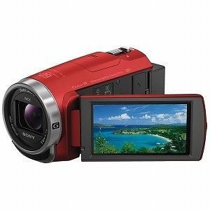 ソニー メモリースティックマイクロ/マイクロSD対応 64GBメモリー内蔵 フルハイビジョンビデオカメラ HDR−CX680(R)(レッド)
