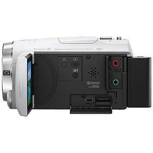 ソニー メモリースティックマイクロ/マイクロSD対応 64GBメモリー内蔵 フルハイビジョンビデオカメラ HDR−CX680(W)(ホワイト)|y-kojima|02