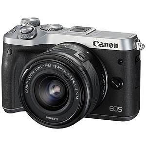 Canon ミラーレス一眼 EOS M6(EF−M15−45 IS STM レンズキット)シルバー EOSM6SL1545ISSTMLK