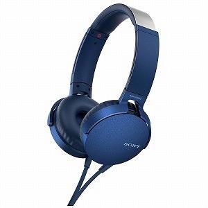 ソニー ヘッドホン MDR−XB550APLC (ブルー)