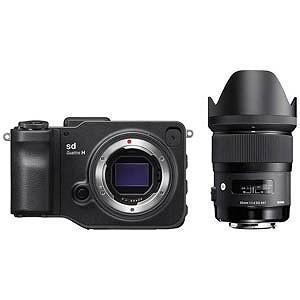 シグマ ミラーレス一眼カメラ sd Quattro H レンズキット (35mm F1.4 DG H...