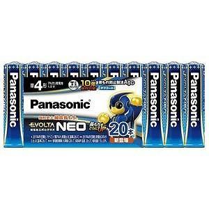 パナソニック 「単4形」20本 アルカリ乾電池 「エボルタネオ」 LR03NJ/20SW|y-kojima