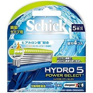 シックジャパン ハイドロ5パワーセレクト 替刃 4個入