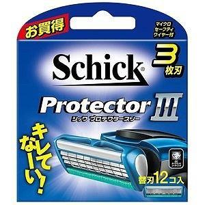 シックジャパン プロテクタースリー 替刃12個入