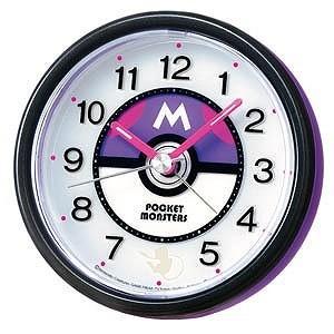 セイコー 目覚まし時計「ポケモンモン マスターボール目覚まし時計」 CQ420Z