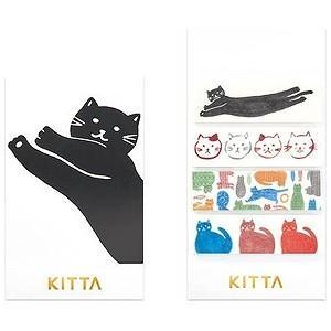 キングジム [マスキングテープ]KITTA(キッタ)ネコ KIT026