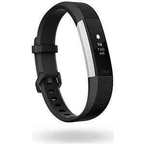 Fitbit ウェアラブル端末 心拍計+フィットネス リストバンド 「Alta HR」 Sサイズ FB408SBKS−CJK Black