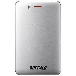 バッファロー 外付けSSD SSD−PMU3Aシリーズ シルバー[ポータブル型/240GB]SSD−...