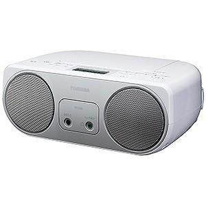 東芝 ワイドFM対応CDラジオ (ラジオ+CD) TY−C150S (シルバー)|y-kojima