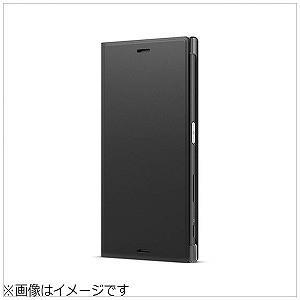 ソニー 「ソニー純正」 Xperia XZ Premium用 Style Cover Stand   SCSG10JP/B ブラック|y-kojima