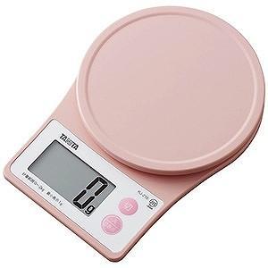 タニタ デジタルクッキングスケール (2kg) KJ−216−PK ピンク