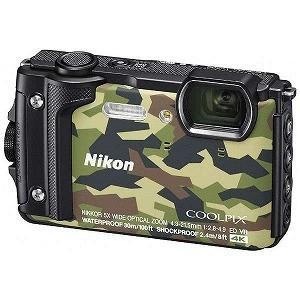 ニコン コンパクトデジタルカメラ COOLPIX(クールピクス) W300(カムフラージュ)|y-kojima