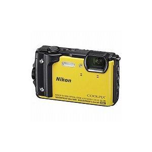 ニコン コンパクトデジタルカメラ COOLPIX(クールピクス) W300(イエロー)|y-kojima
