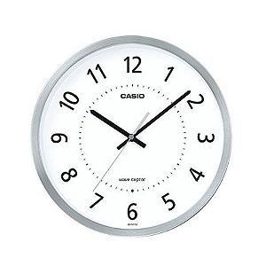 CASIO 電波掛け時計 IQ−1011J−8JF