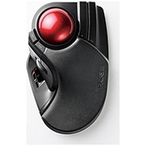 エレコム ワイヤレストラックボールマウス[2.4GHz USB・Mac/Win](8ボタン・ブラック...