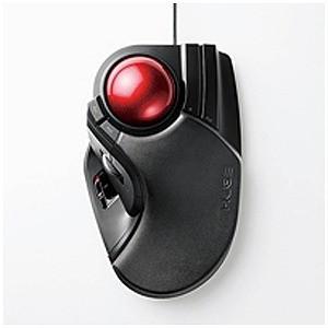 エレコム 有線トラックボールマウス[USB・Mac/Win](8ボタン・ブラック) M−HT1URBK|y-kojima