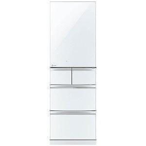 三菱 5ドア冷蔵庫「置けるスマート大容量 Bシリーズ」 (455L・右開き) MR−B46C−W クリスタルピュアホワイト(標準設置無料)|y-kojima