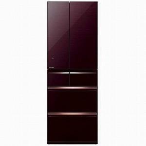三菱 6ドア冷蔵庫 (517L・フレンチドア) MR−WX52C−BR クリスタルブラウン(標準設置無料)|y-kojima