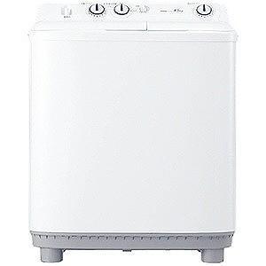 ハイアール 2槽式洗濯機 (洗濯4.5kg)「Live Series」 JW−W45E−W ホワイト...