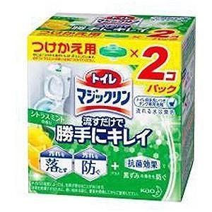 花王 トイレマジックリン 流すだけで勝手にキレイ シトラスミントの香り つけかえ用 80g×2コ