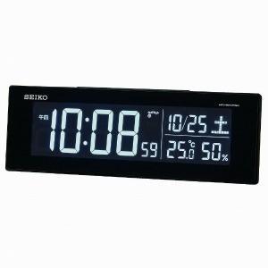 セイコー 交流式デジタル電波目ざまし時計(カラーLED表示) DL305K y-kojima