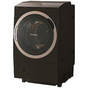 東芝 [左開き] ドラム式洗濯乾燥機 (洗濯11.0kg/乾燥7.0kg) TW−117X6L−T グレインブラウン(標準設置無料) y-kojima