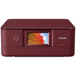 EPSON A4インクジェット複合機 コンパクト&スタイリッシュ(レッド)[無線LAN/有線LAN] EP−880AR|y-kojima