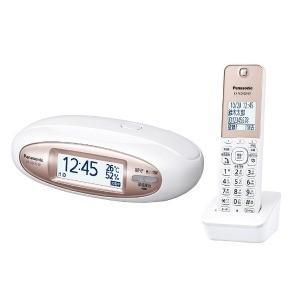 パナソニック 【子機1台付】デジタルコードレス電話機 「RU・RU・RU(ル・ル・ル)」 VE−GZX11DL−W(パールホワイト)|y-kojima